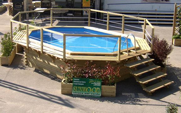 Piscina oslo piscine sunwood arredi per parchi e for Arredi per piscine